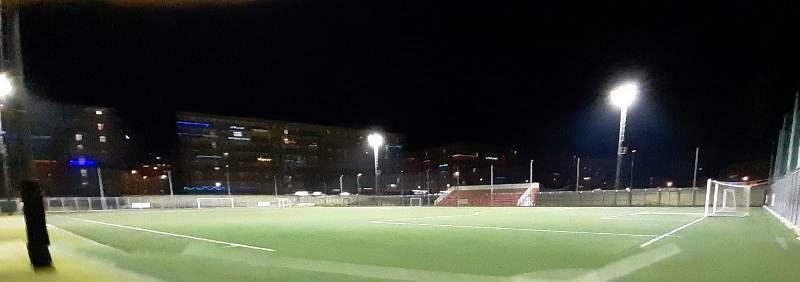 C'è più luce al campo sportivo Sante Diomede