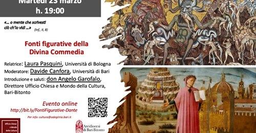 L'Ufficio Chiesa e mondo della cultura della Diocesi di Bari organizza un incontro su Dante e le fonti figurative