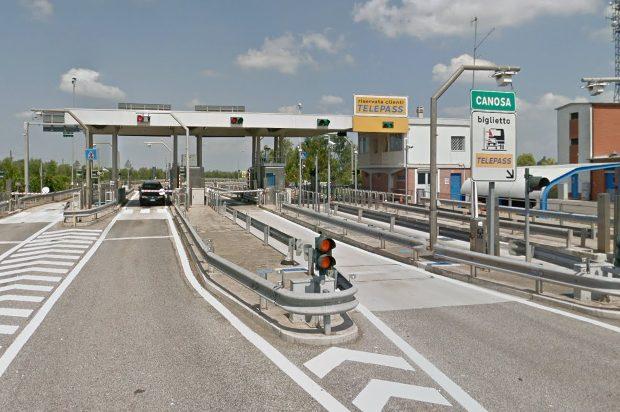 Autostrade: chiude al traffico il tratto Canosa e Andria Barletta, verso Bari